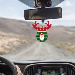 $enCountryForm.capitalKeyWord Australia - Car Accessories Antlers Shape Car Perfume Papers Hanging Pendant Air Freshener Rear View Mirror Ornament Interior Decoration