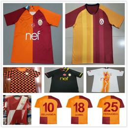 091ea1bb1 Custom Football Jersey Shirts Canada - 2019 2020 Galatasaray Soccer Jerseys  GOMIS LINNES CIGERCI BELHANDA FERNANDO