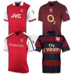 a7d0339eaea Retro 98 99 00 02 05 06 07 08 Henry van Persie Bergkamp Soccer Jerseys  Classic Futbol Camisa Vintage Football Camiseta Shirt Kit Maillot