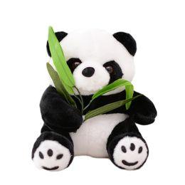 $enCountryForm.capitalKeyWord UK - 11cm white black Lovely BAMBOO Sitting Panda Plush Toy Kids Soft Small Charms Stuffed Animal Plush Doll Toys