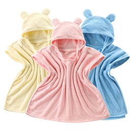 $enCountryForm.capitalKeyWord UK - Bags, children's bath towels Lovely Cloak for children Hooded baby bath towel Super soft Baby boys and girls Tricolor optional