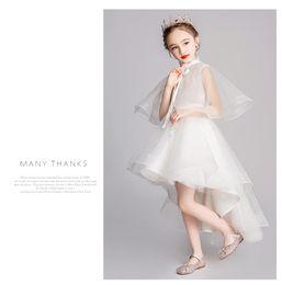 23b8214078c37 Piano dresses online shopping - Little Girl yangqi Princess Skirt Evening Dress  Children Host Piano Peformance