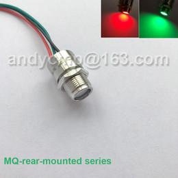 $enCountryForm.capitalKeyWord Australia - Metal rear panel mount LED indicators IP67 3V 5V 6V 12v dual tricolor Red Green Eagle eye illuminated Led Signal Indicator Lamp Light