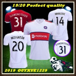 00c735d3f top quality 2019 2020 CHICAGO soccer jersey FIRE home away 19 20  SCHWEINSTEIGER FRANKOWSKI MIHAILOVIC McCARTY NIKOLIC football shirts
