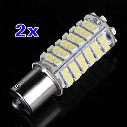 Car Lights Australia - 2X Car 1156 382 BA15S P21W White 102 SMD LED Tail Brake Signal Light Bulb DC 12V #738477