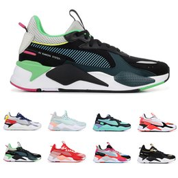 China New RS-X Reinvention Toys Transformers men women running shoes BLUE ATOLL BRIGHT PEACH mens trainers fashion sports sneakers size 36-45 supplier toy new shoes suppliers