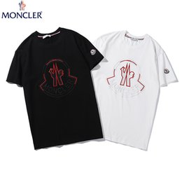 $enCountryForm.capitalKeyWord NZ - Summer Lovers Pure cotton T-shirt brand Superior quality Embroidery Straight Fashion Men Women Tees Cotton Hero Man Apparel 4310#
