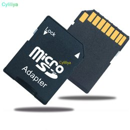 transflash adapter Australia - 5000pcs lot Micro SD Transflash TF  MicroSD Memory Card adapter SD adapter high quality