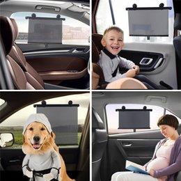 $enCountryForm.capitalKeyWord Australia - Car UV Protection Sunshade Side Window Cover Automatic Roller Car Retractable Block Insulation Sunshade Window Film