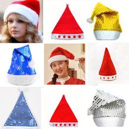 Novelty Christmas Ornament Australia - Adult Child Unisex Adult Christmas Red Riding Hood Santa Novelty Hat Christmas Party Opening