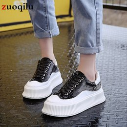 $enCountryForm.capitalKeyWord NZ - 2019 Ultralight white shoes woman Flat platform Women Casual Shoes Platform Sneakers Ladies Trainers chaussure femme Silver #45