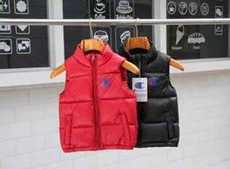 $enCountryForm.capitalKeyWord Australia - 2019 new style Winter Warm Thicken Vests down jacket Baby 90% Duck Down Jacket Waistcoat Hooded Coat For Children zipper Waistcoat