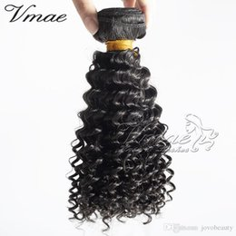 best afro weaves Canada - VAME Romance Hot Brazilian Kinky Curly Hair Weaves 3pcs Lot Brazilian Afro Kinky Curly Virgin Hair Best Cheap Human Hair Extensions