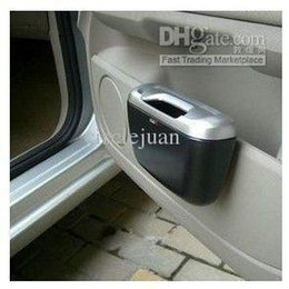 garbage for car UK - Car Auto Rubbish Bin Trash Can Garbage Dust Case Box Holder Bin Useful For Travel Traveling