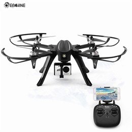 Wifi Camera Toy Australia - Eachine EX2H Brushless WiFi FPV With 1080P HD Camera Altitude Hold RC Drone Quadcopter RTF