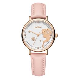 $enCountryForm.capitalKeyWord UK - Frozen Women Children Watches Rhinestone Decor Wristwatches Child Girl Teenage Bracelet Watches