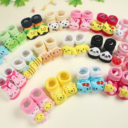 Wholesale Baby Socks Animal Anti slip Boy Animal Socks Newborn Baby Boys Outdoor Shoes Infant Girls cute Anti slip Walking Warm Sock style