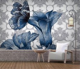 $enCountryForm.capitalKeyWord NZ - 3d Digital Print Wallpaper HD Hand-painted Large Flower Wall paper Beautifully Decorative Practical Wallpaper