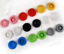 thumb silicone controller NZ - Rubber Silicone Thumb Grips Grip Cap Thumbstick Stick cover case Joystick For PS2 PS3 PS4 Xbox one Xbox 360 Controller