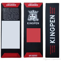 $enCountryForm.capitalKeyWord Australia - KINGPEN Vape Cartridges E-Cigarettes King Pen Empty Oil Vaporizer Tanks Atomizer 0.5ml 1ml Ceramic Coil Tube Packaging with KP Logo Sticker