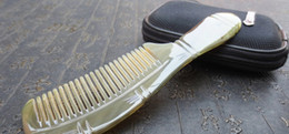 straight hair types Australia - Hand-made straight curly hair massage comb natural angle comb authentic anti-static hair loss angle comb