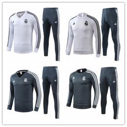 $enCountryForm.capitalKeyWord Australia - 18 19 Real Madrid adult tracksuits 2019 sportswear ASENSIO soccer jerseys VINICIUS JR long sleeve Half Zipper training suits uniforms