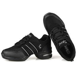 Women jazz shoes online shopping - Dancing Shoes For Women Girls Ladies Feature Modern Dance Jazz Shoes Soft Outsole Breath Dance Sneakers Female Waltz Sneakers Size