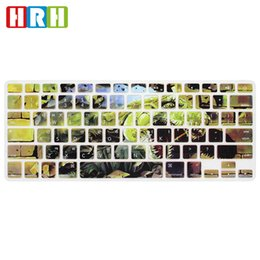 Retina Macbook 15 Australia - Stylish Korean Language USA Silicone Keyboard Cover Skin Protective Film for Macbook Air 13 Pro Retina 13 15 17 Laptop Accessory
