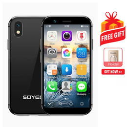 $enCountryForm.capitalKeyWord Australia - SOYES XS 3GB+32GB 3.2 inch Android 6.0 MTK6737 Quad Core up to 1.3GHz Dual SIM Bluetooth WiFi GPS Network: 4G Support Google Play