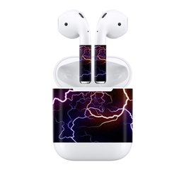 $enCountryForm.capitalKeyWord Australia - Fanstore Lightning Skin Sticker Protective Cover Dustproof Decal for Apple Airpods Skin