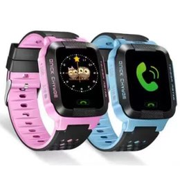 $enCountryForm.capitalKeyWord UK - Children Smart Watch GPRS Base Station Positioning Study Play Touch Screen SOS Emergency Alarm Phone Book Wechat Kids Wristwatch