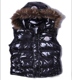 $enCountryForm.capitalKeyWord UK - Classic Fashion hot sale Brand Women Winter Warm Down Jacket With Fur collar Feather Dress Jackets Womens Outdoor Down Vests Coat