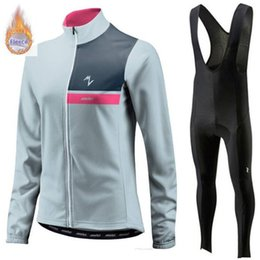 $enCountryForm.capitalKeyWord Australia - 2019 Pro Team Morvelo Winter Thermal Fleece Cycling Clothes women Jersey Suit Outdoor Riding Bike MTB Clothing Bib Pants Set