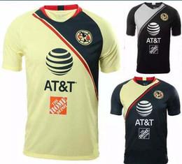 099486187e5 Size S-XXL 2018 LIGA MX Club America soccer Jerseys home away 18 19 O.PERALTA  I.RENATO C.DOMINGUEZ MATHEUS Mexico football shirt