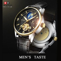 Mechanical water tiMer online shopping - TEVISE T820B Automatic Watch Men Mechanical Watches Mens Luminous Waterproof Sport Male Clock Business Wristwatch Timer relogio