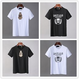 designers shirts for men Australia - M-3XL 2020 box logo Fashion Designer Brand Hot drilling Skulls T Shirt Mens Clothing T Shirts For Men Tops Short Sleeve Tshirt