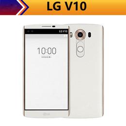 $enCountryForm.capitalKeyWord NZ - Original Unlocked LG V10 H900 H901 H961N 4G LTE Mobile Phones 5.7 inch 4GB RAM 64GB ROM Snapdragon 808 3 Cameras Smartphones