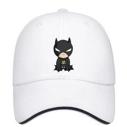 Batman Blue Cartoon Australia - So cute cartoon character hero Batman Unisex Men Caps Woman's Hat Trendy Cotton Snapback Flatbrim Athletic Hat Ball Cap for Men