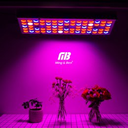 led grow ir uv Canada - Fitolamp Full Spectrum 25W 45W LED Grow 85-265V UV IR lamps Panel Plant Grow 75 144leds For Green Indoor Plants
