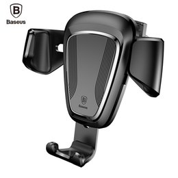 $enCountryForm.capitalKeyWord NZ - Baseus Iphone 7 6 Samsung S8 Holder Mobile In Car Stand For Phone Soporte Movil Support Cellular J190507