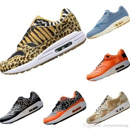 $enCountryForm.capitalKeyWord Australia - With Box 2019 Atmos Animal Pack 1 OG Leopard Print Fur Running Shoes 1s Atmos Animal Pack EVA Built-in AirCushion Cushioning Sports Shoes