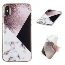 Galaxy S5 Gel Australia - Marble Soft Cover For Samsung Galaxy S3 i9300 S4 i9500 S5 i9600 S6 Edge S7 S8 Plus Case Skin TPU IMD Plastic Silicone Gel Rubber Phone Cover