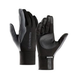 $enCountryForm.capitalKeyWord Australia - Gloves Men Unisex Touch Screen Leather Gloves Thinsulate Lined Driving Warm Winter Keep Warm Mittens Male