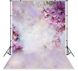 backdrop flower props 2019 - Vinyl Photo Background Children Photography Flower Backdrops Computer Printed Newborns Photography Studio Photo Backdrop