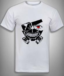 $enCountryForm.capitalKeyWord Australia - Tokyo Ghoul T-Shirt,Red Eyed Ken Kaneki mask, Anime Manga Top unisex, Mens Men Women Unisex Fashion tshirt Free Shipping Funny Cool Top