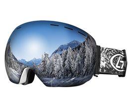 Ski Goggles Anti Fog Glasses Australia - Outdoor Ski Goggles Double Lens Men Oculos Peter Sagan Skiing Snow Snowboarding Cycling Glasses Gafas Winter UV Anti-Fog Lens #42779