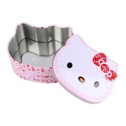 Headphones Jewelry Australia - Mini Sealed Jar Candy Boxes Hello Kitty Tin Metal Box Jewelry Storage Box Coin Earrings Headphones Gift