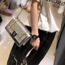 $enCountryForm.capitalKeyWord Australia - Designer-2019super chic Women Feminina Luxury sequins Handbags Women square shoulder bag Crossbody Messenger bag