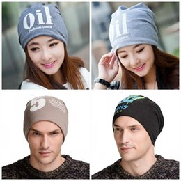 Military green arMy beanies online shopping - Autumn And Winter Knitted Skull Caps Cashmere Woollen Yarn Sleeve Head Hats Windbreak Warm Hip Hop Beanie Men And Women Universal tx I1