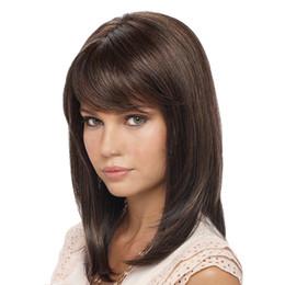 $enCountryForm.capitalKeyWord Australia - CHIRARROSE Brand New Fashion Womens Synthetic Wig Hair Accessory Natural Straight Hair Wig Mid-long Wig 1 piece ss175